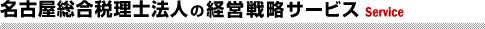名古屋総合税理士法人の経営戦略サービス